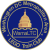 WamaLTC Logo: U.S. Capitol dome in gold atop a brick in outline over a circular field of blue.
